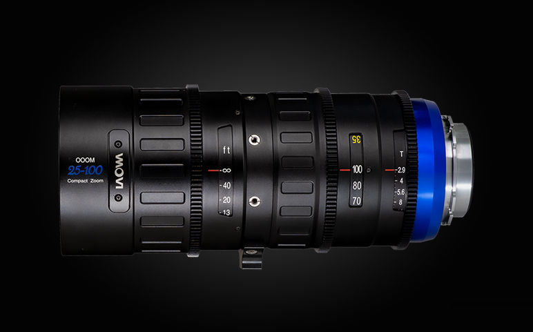 Laowa OOOM 25-100mm T2.9 Cine-Zoom is now available