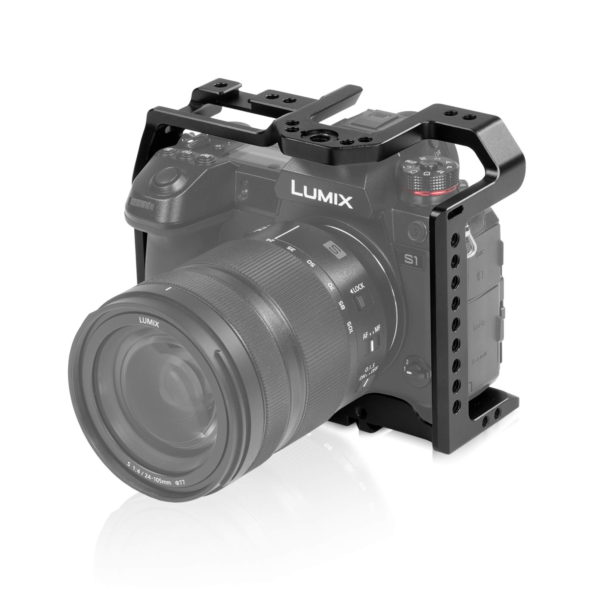 Shape: Low cost camera cage for Panasonic S1 and S1R plus other rig setups