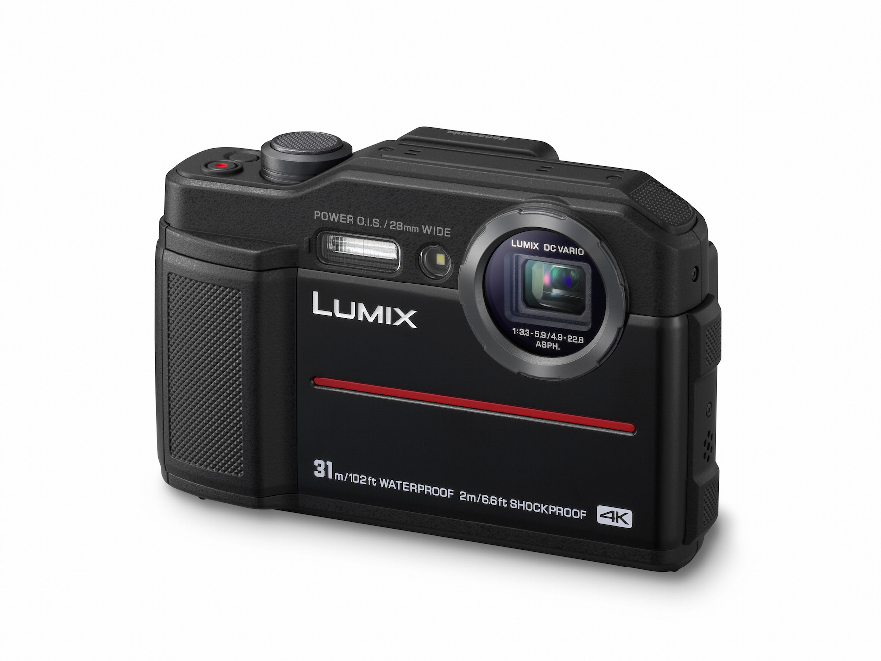 Panasonic LUMIX FT7: 4K Tough camera with 31 m diving depth and integrated viewfinder