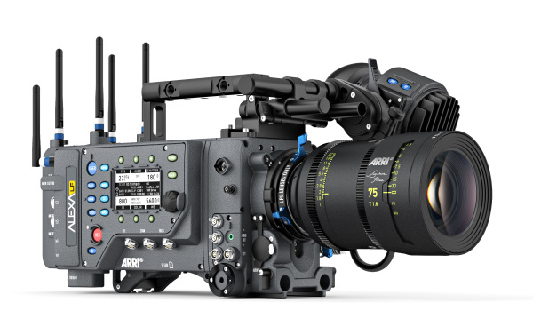 ARRI: SUP 4.0 for Alexa LF with new Anamorphic De-Squeeze factors, LBUS support etc.