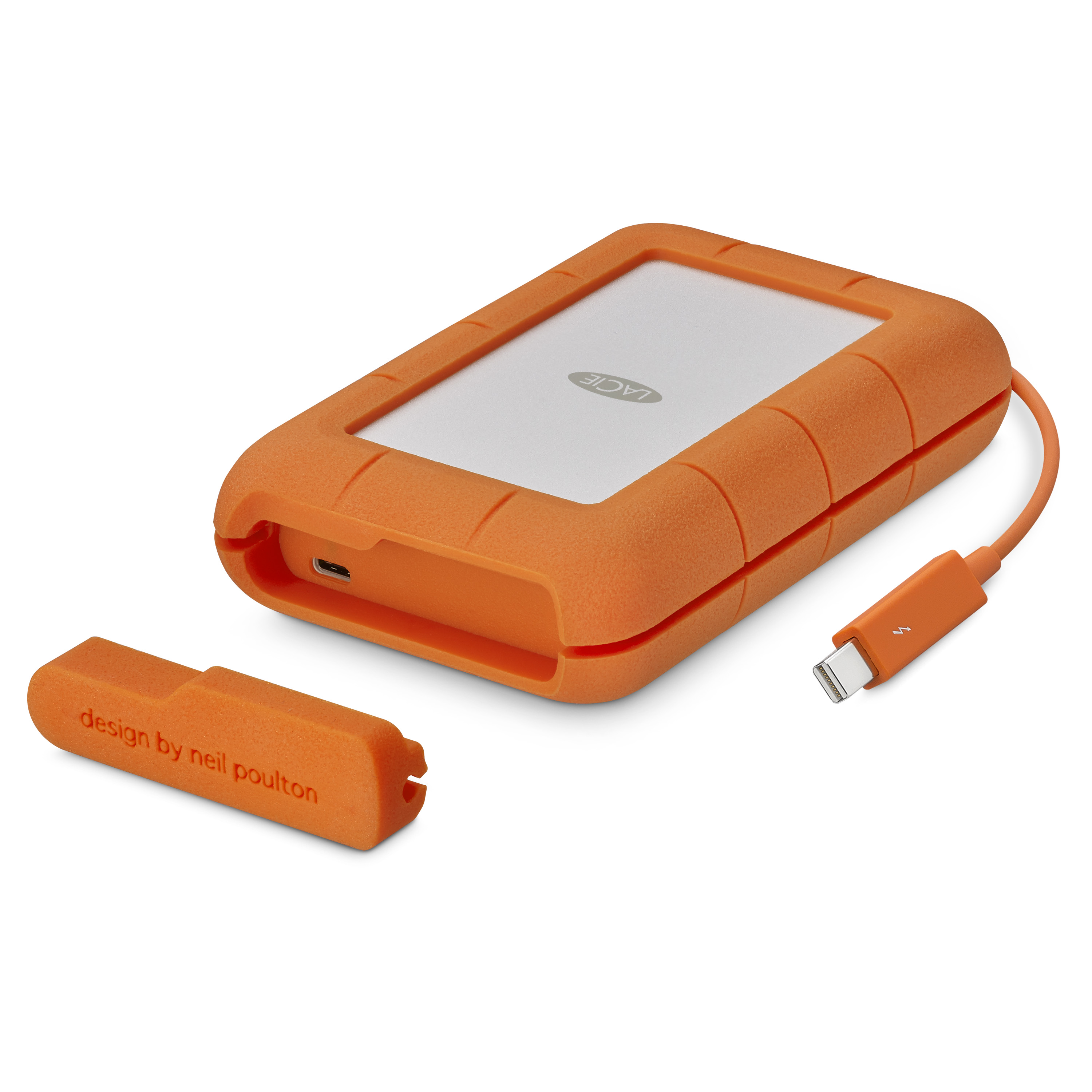 LaCie Rugged and d2 with Thunderbolt and USB C before // CES 2017