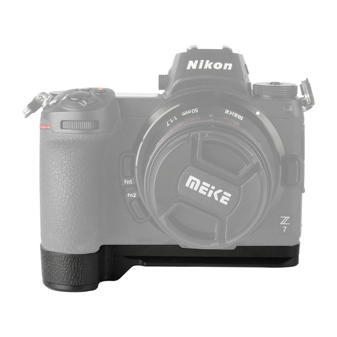 Handle enlargement for Nikon Z6 and Nikon Z7: Meike MK-Z7G