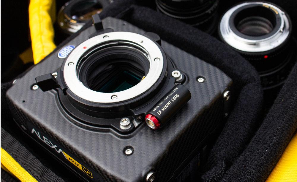 New ARRI EF-Mount (LBUS) for large format and Super-35 cameras