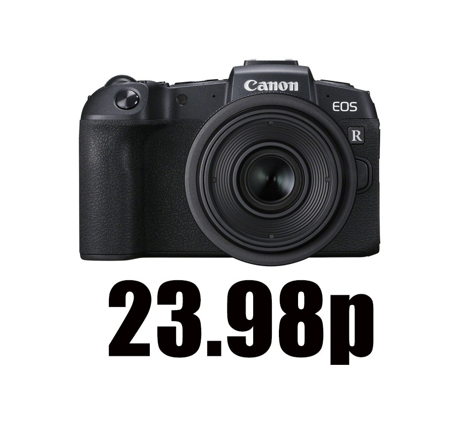 24 fps available as free firmware download for Canon EOS RP and Canon EOS 90 D