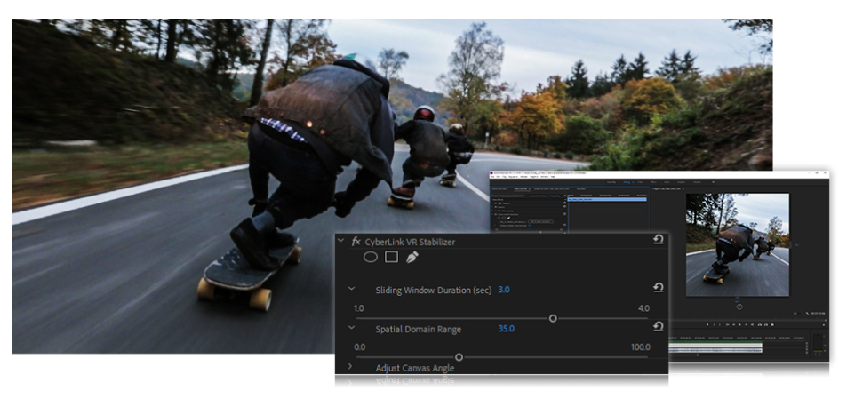Cyberlink introduces VR Stabilizer Plug-In for Premiere and After Effects