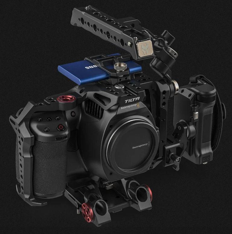 Neuer Tilta Kamerakäfig für Blackmagic Pocket Cinema Camera 6K Pro