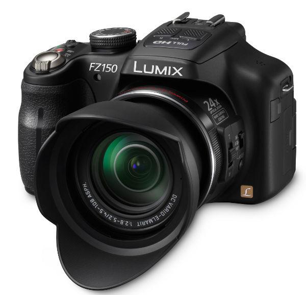 ... News : Panasonic Bridge cameras Lumix FZ150 with 50p and zoom rocker