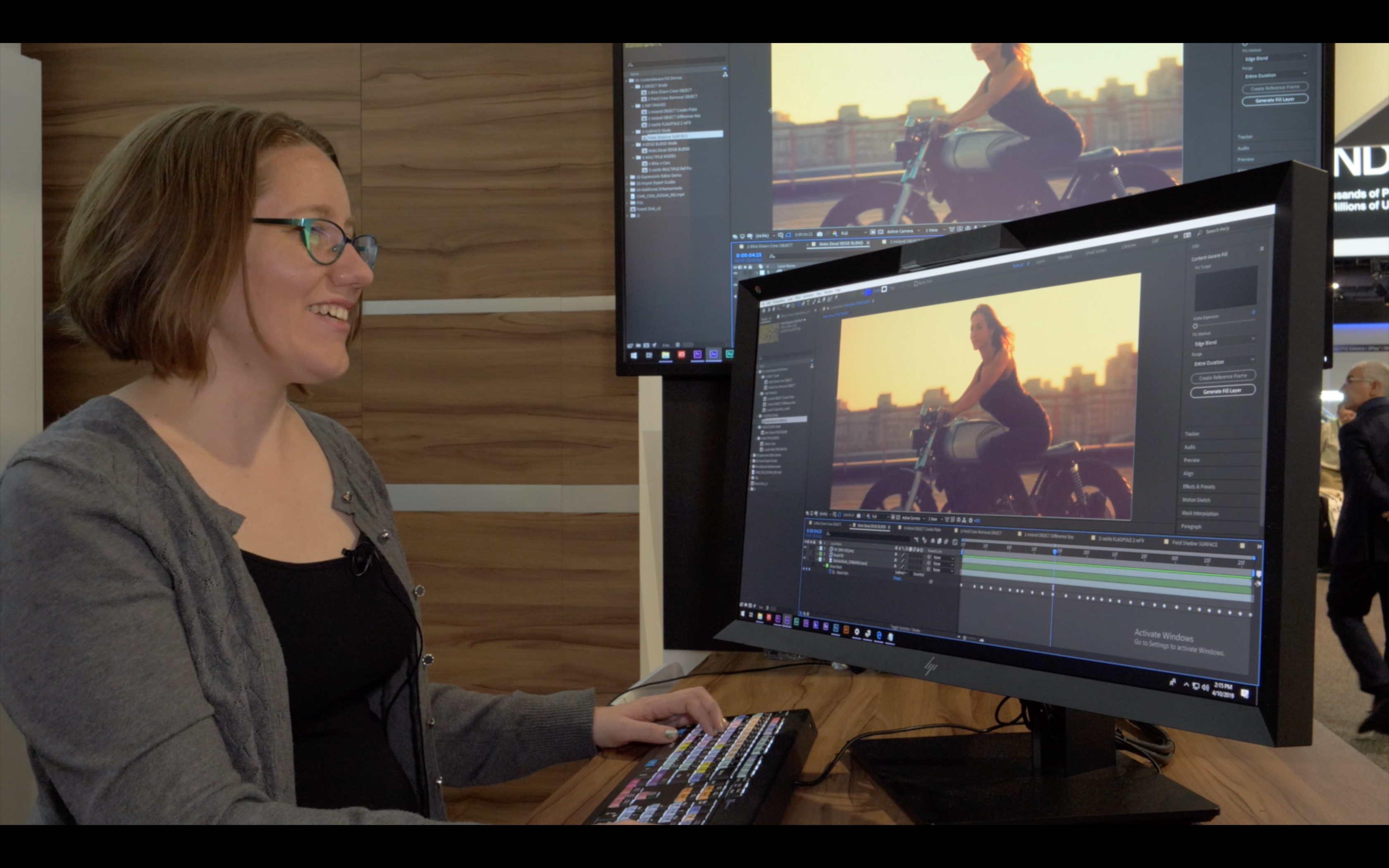 NAB video: Tips & Tricks for Content Aware Fill in Adobe After Effects CC // NAB 2019