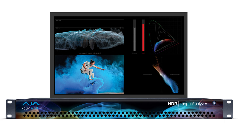 AJA HDR Image Analyzer // IBC 2018