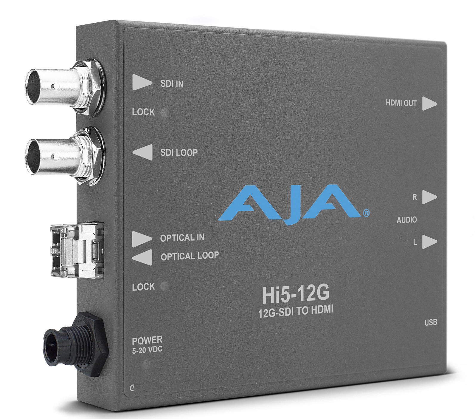 AJA: New 12G-SDI to HDMI 2.0 Mini Converter Series