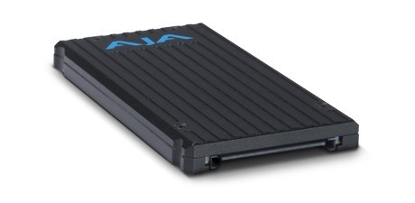 New 2TB Pak 2000 SSD storage media from AJA
