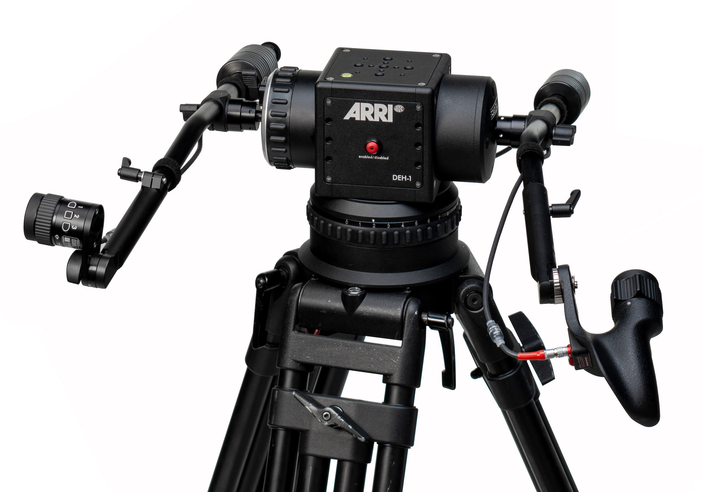 ARRI: DEH-1 Digital Encoder Head Expands Remote SRH-3 Stabilization System
