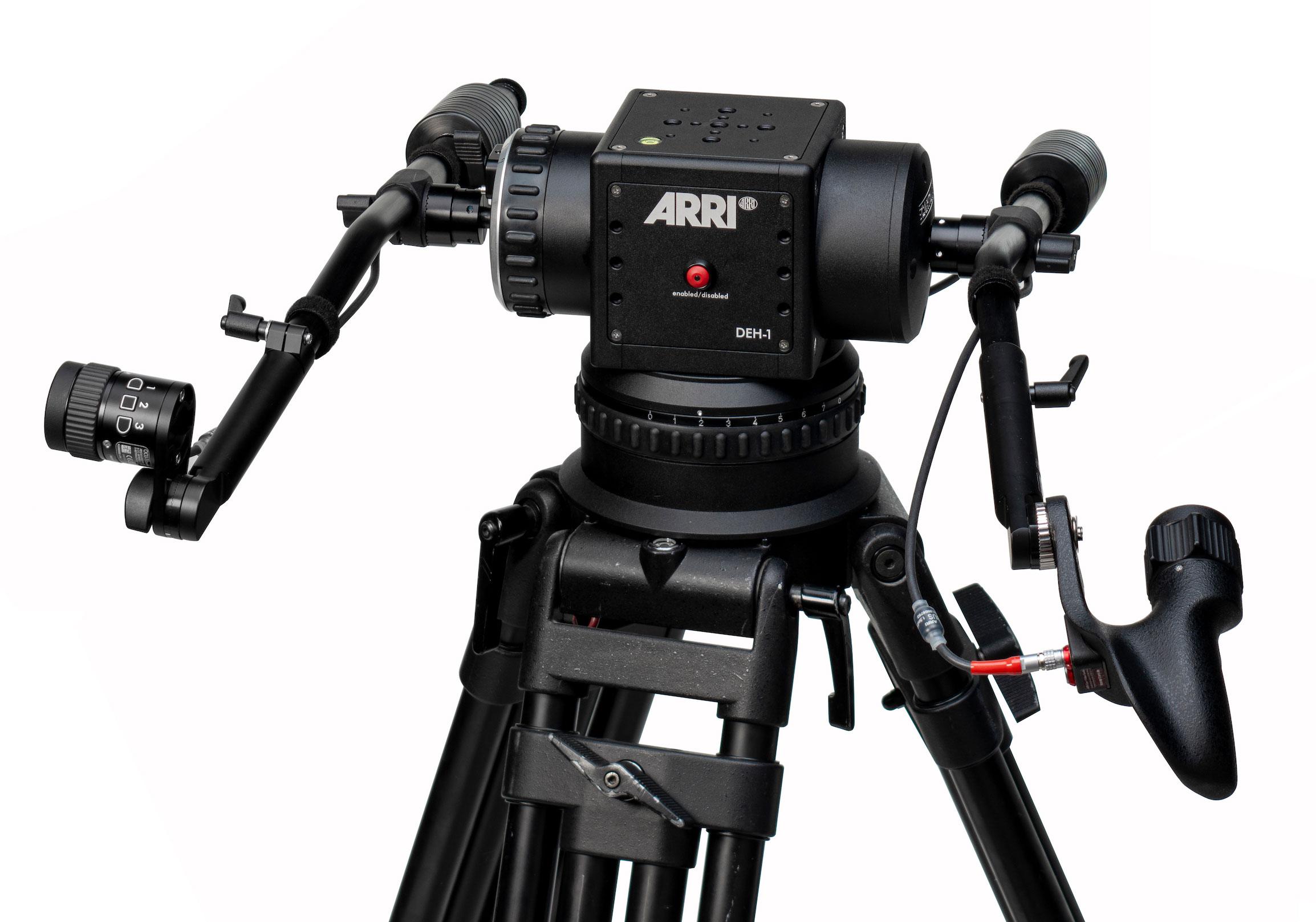 ARRI: DEH-1 Digital Encoder Head Expands Remote SRH-3 Stabilization System