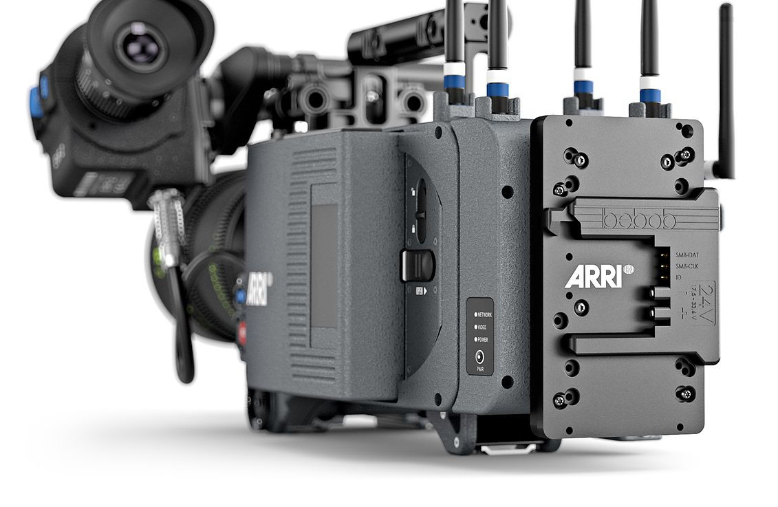 B-Mount: new 24V battery interface developped by Bebob and ARRI // NAB 2019