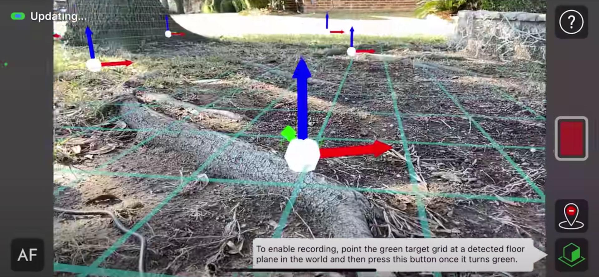 CamTrackAR - 3D Tracker as iPhone App