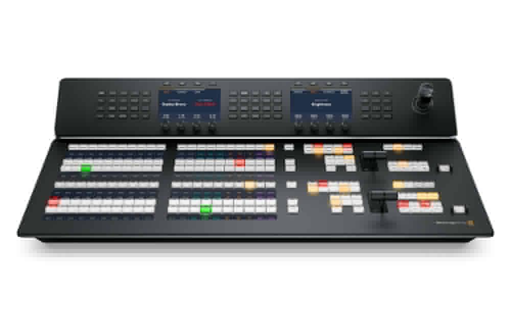 New: Blackmagic ATEM 2 M/E and ATEM 4 M/E Advanced Panels