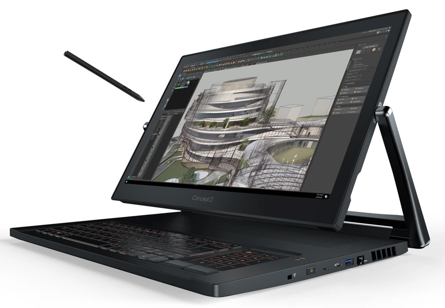 Acer's professional ConceptD mobile workstations get CPU and GPU update // IFA 2019