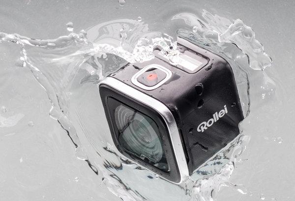 Actioncam-500-Sunrise_Rollei_wasser