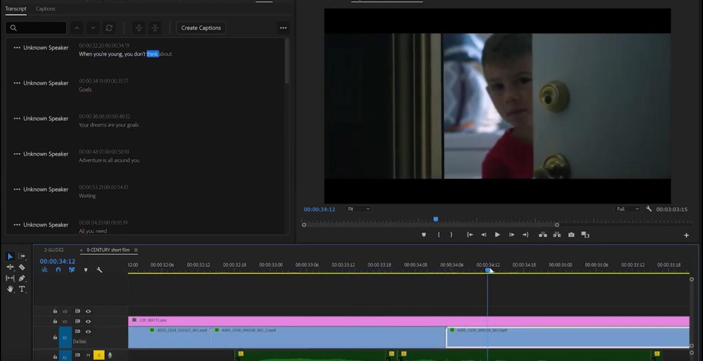 Adobe CC Update: AI audio transcription and new GPU acceleration for Adobe Premiere Pro