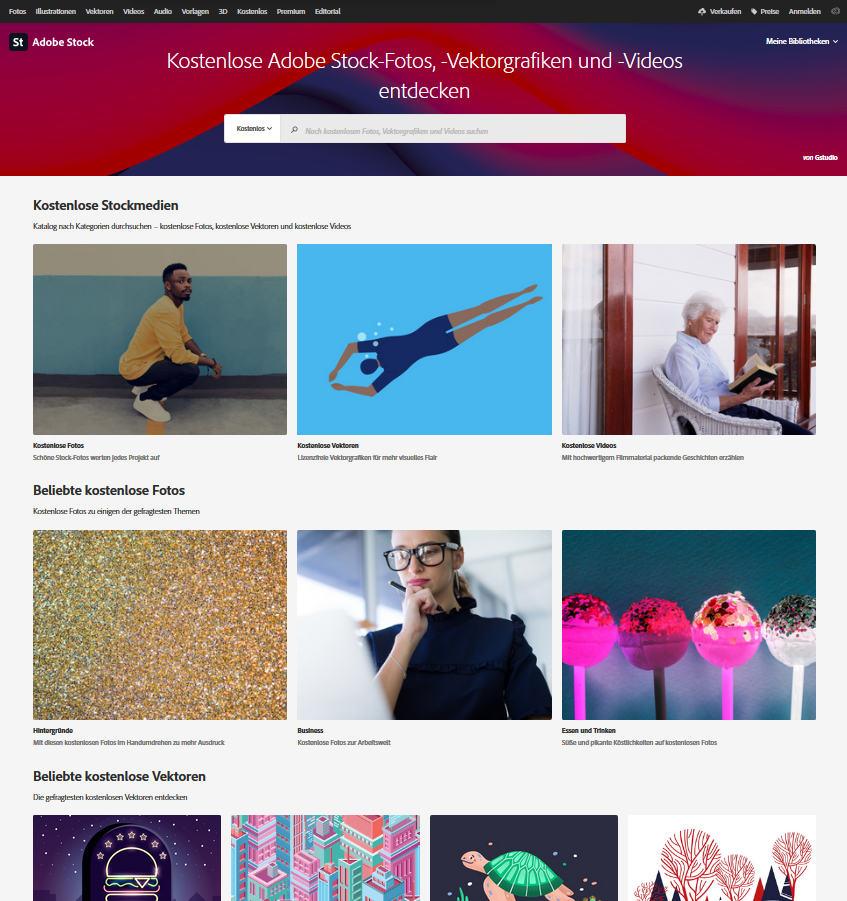 Adobe Stock Free Collection: 70,000 free stock media