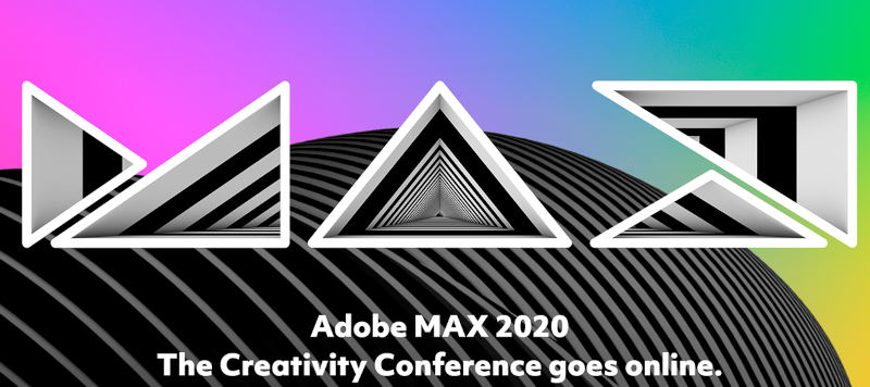 Adobe MAX 2020: Online meeting with over 350 events