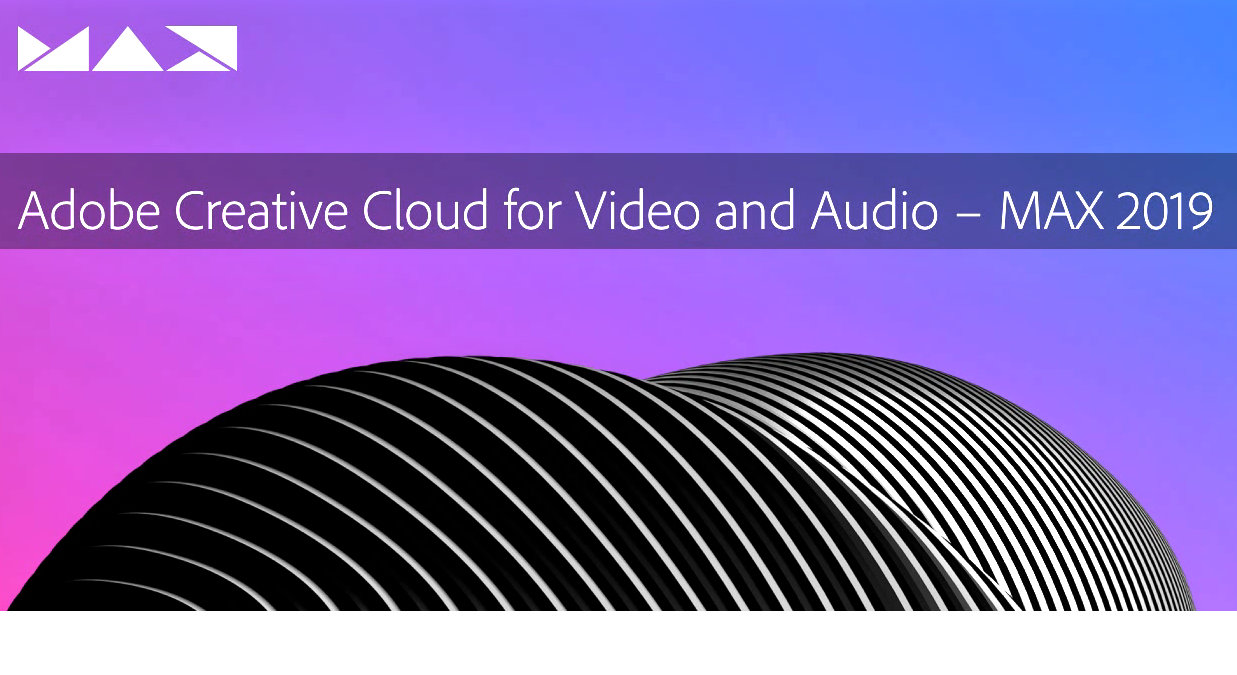 Adobe MAX - New functions for Premiere Pro, After Effects and Co...