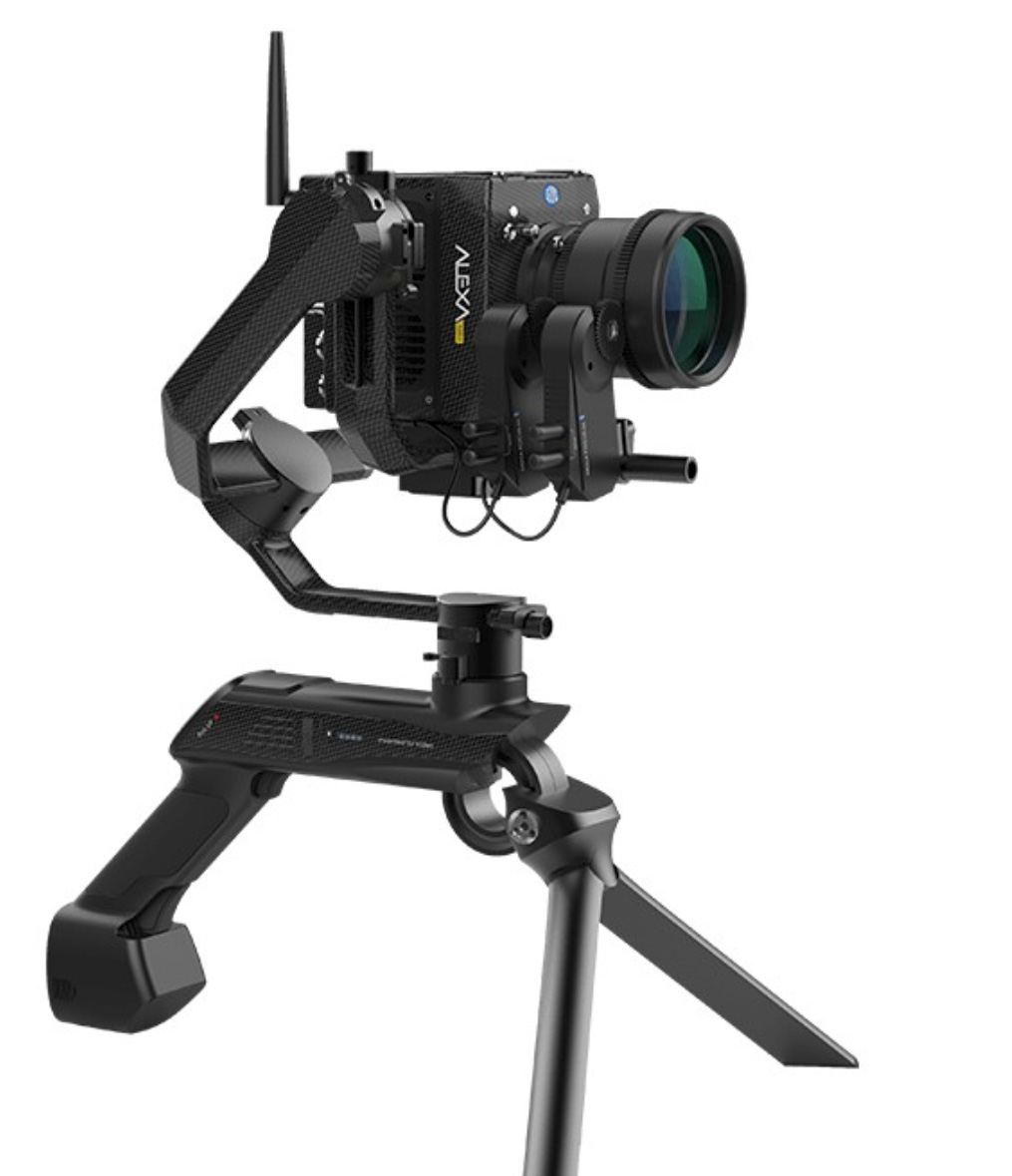 Attack of the Transformer Gimbals: Lightweight Moza Air X Gimbal with 6 kg carrying capacity