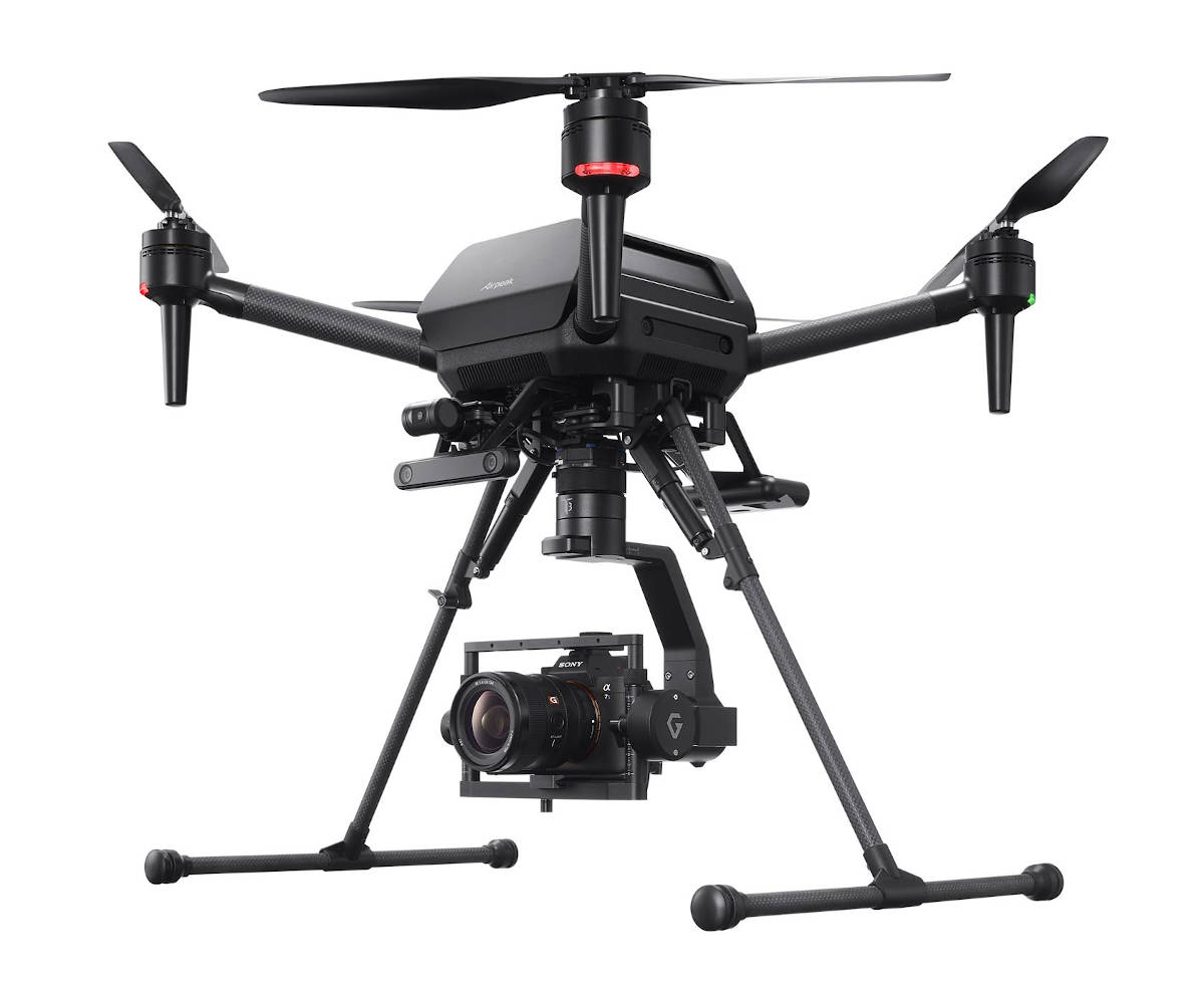 Sony presents its Airpeak S1 professional drone