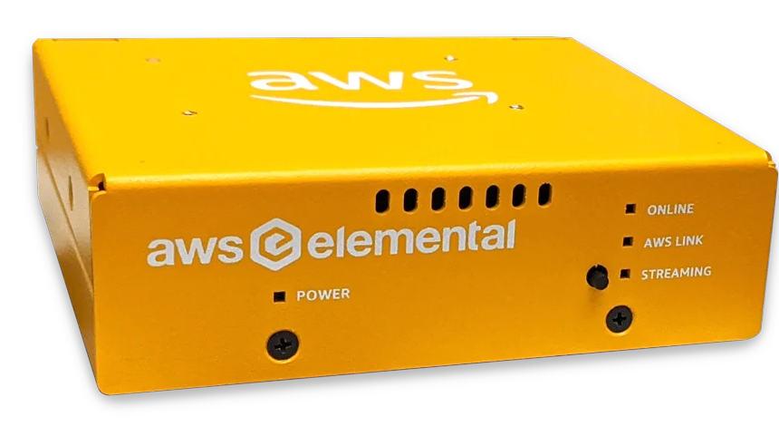 Amazon: Elemental Link Box with HDMI/SDI for streaming via AWS