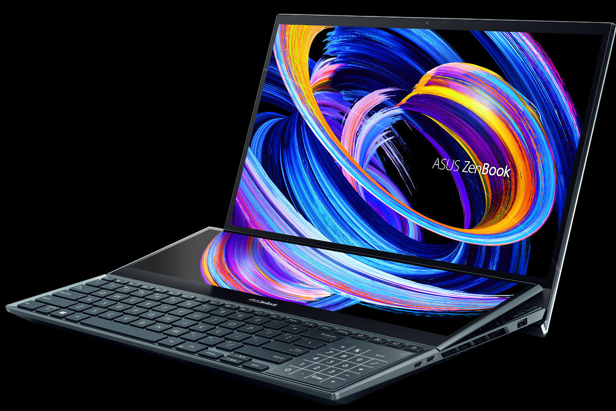 New Asus ZenBook Pro Duo 15 OLED and Duo Pro 14