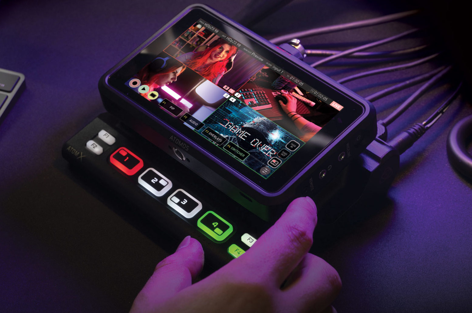 AtomX CAST HDMI Switcher Module for Ninja V now available