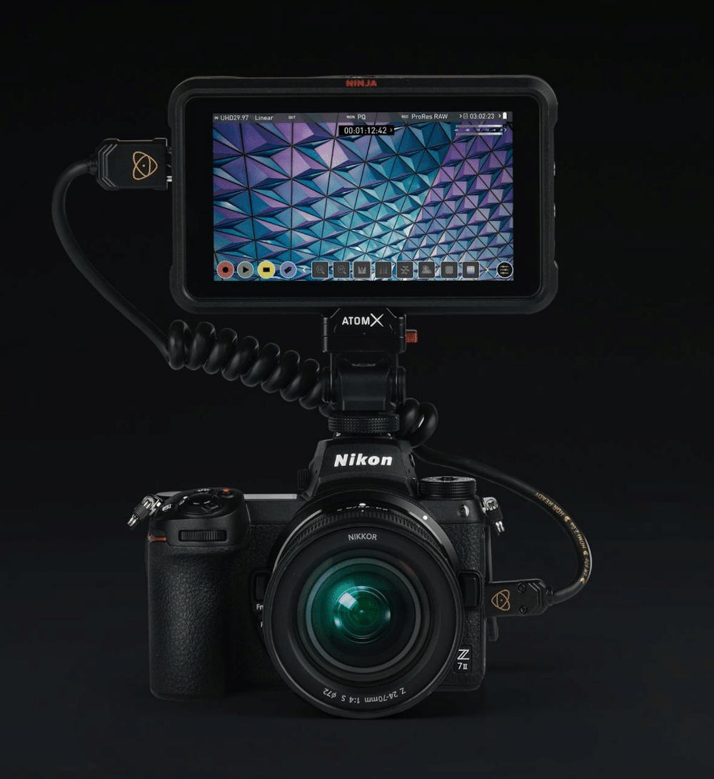 New Nikon Z7 II shoots ProRes RAW with Atomos Ninja 4Kp30