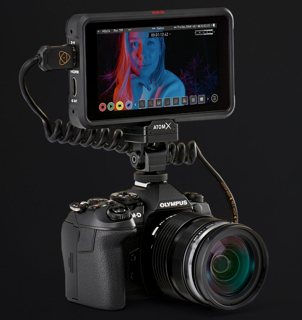 Atomos: Firmware update for Ninja V brings ProRes RAW for Olympus OM-D E-M1X and E-M1 Mark III