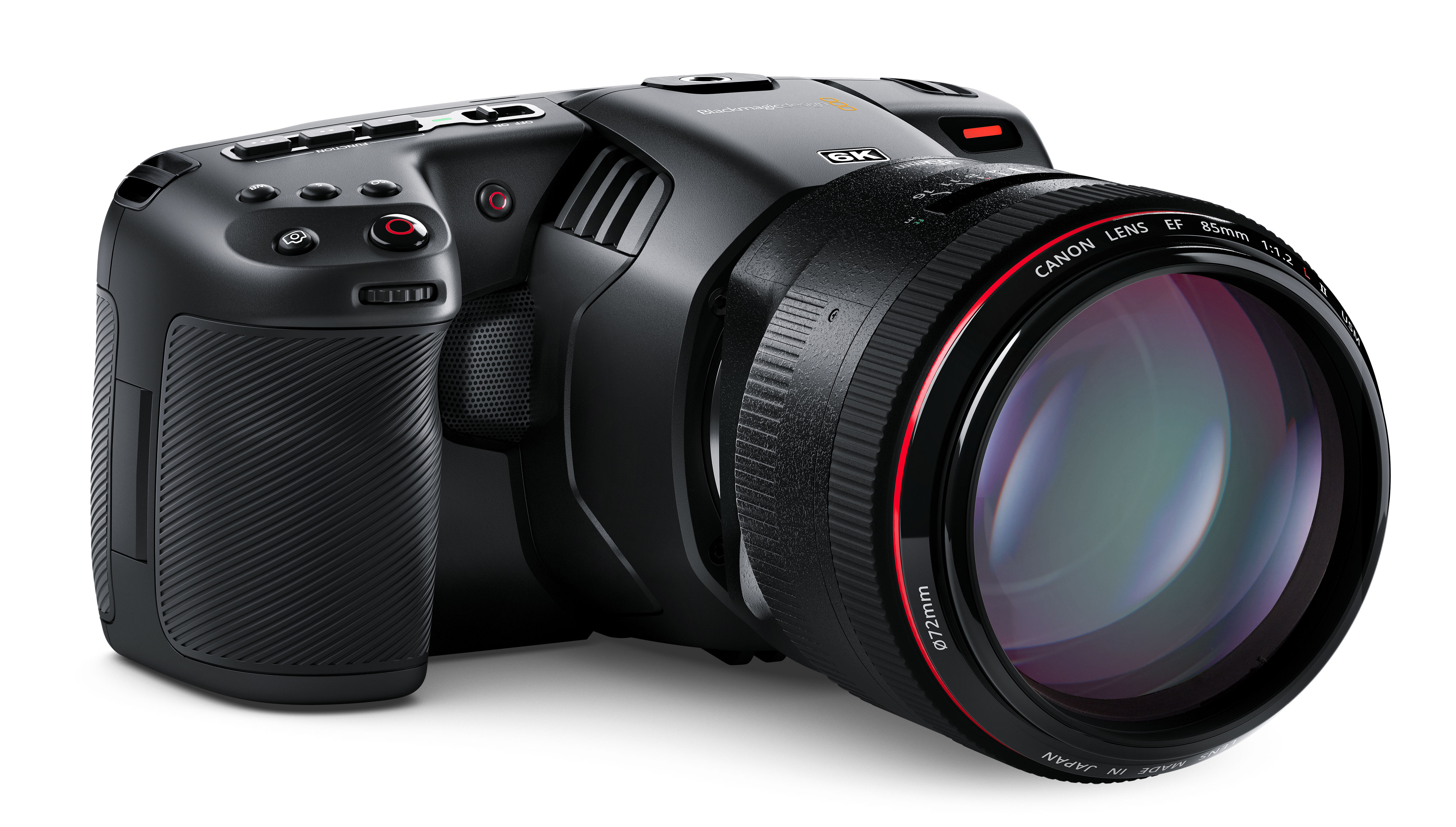 Blackmagic Pocket Cinema Camera 6K with S35 Sensor and Canon EF Mount introduced