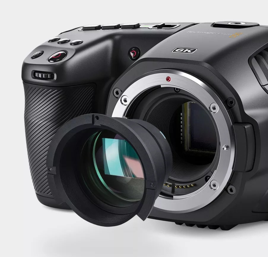 Internal Speedbooster for the Blackmagic Pocket Cinema 6K