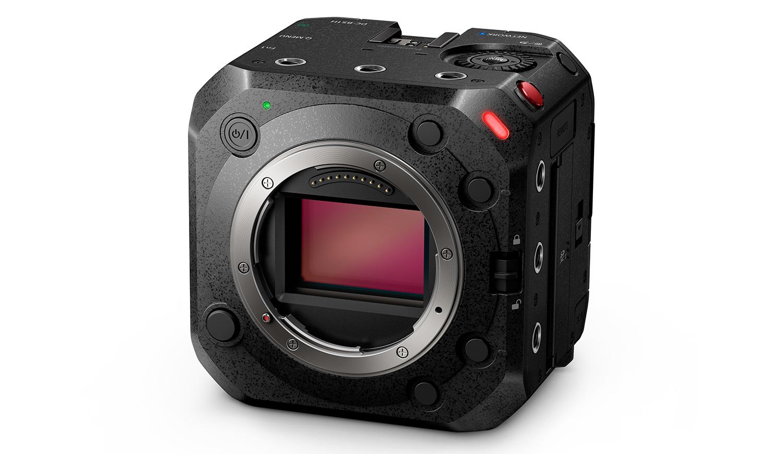 Panasonic BS1H - cube cam with full-frame sensor under 600 grams