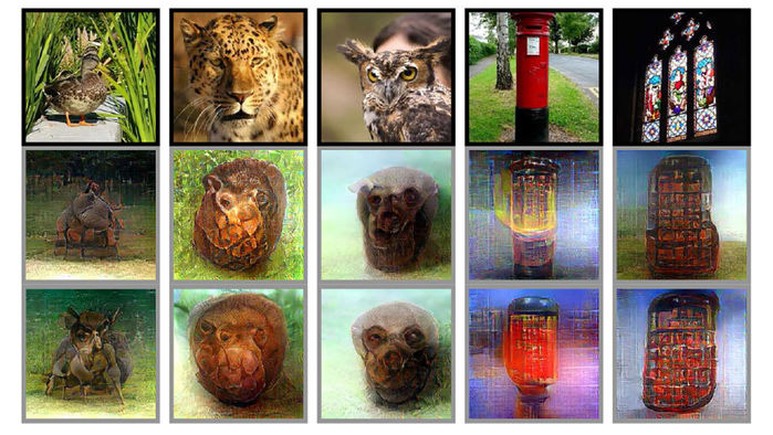 Deep Learning algorithm can read images in the head
