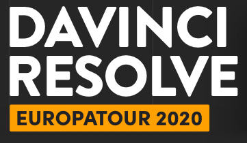 Blackmagic Europatour 2020 offers free learning courses for DaVinci Resolve