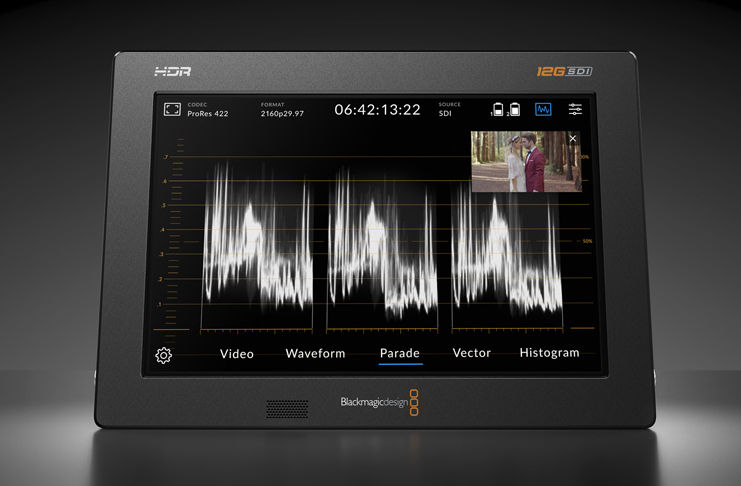 Blackmagic Video Assist 12G HDR 5