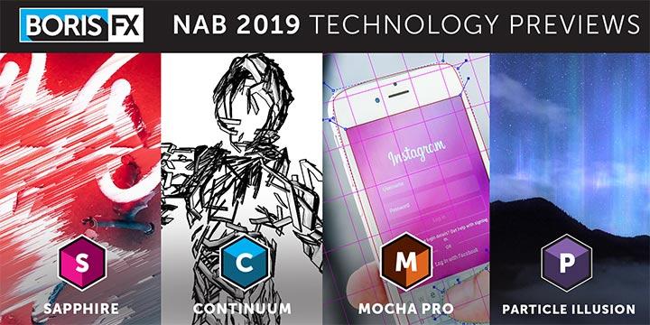 Boris FX: Updates für Saphir, Kontinuum, Partikelillusion und Mocha Pro // NAB 2019
