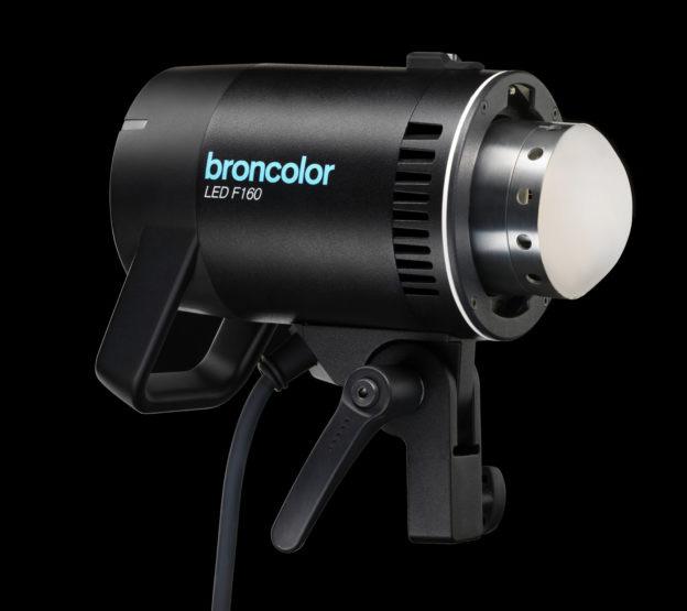 broncolor F160: focusable bi-colour LED light