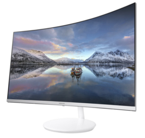 Samsung: new Curved Quantum Dot Monitor CH711 with 125% sRGB // CES 2017