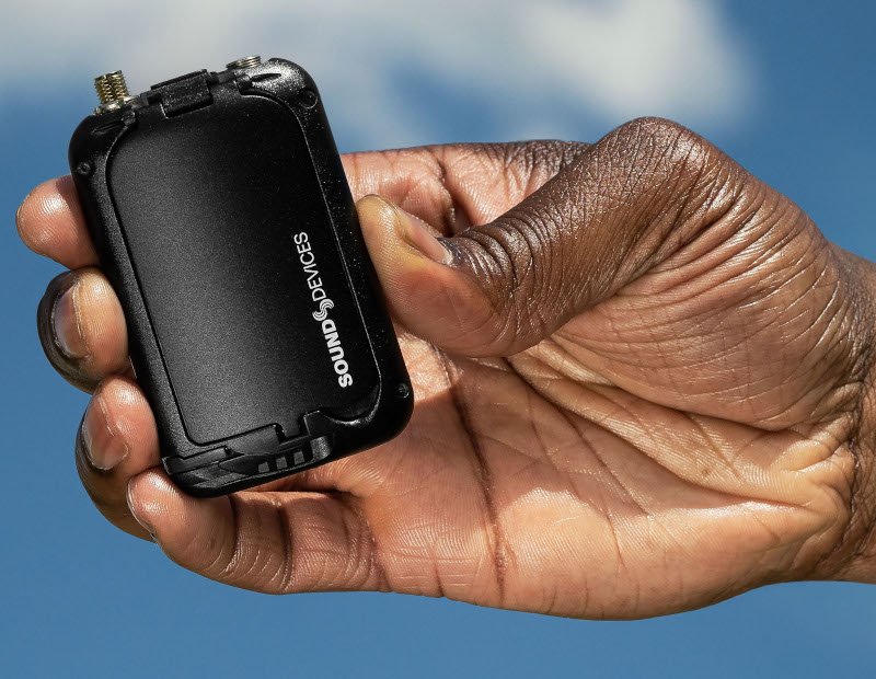 Sound Devices A20-Mini: Professional wireless audio transmitter with 32-bit float recording