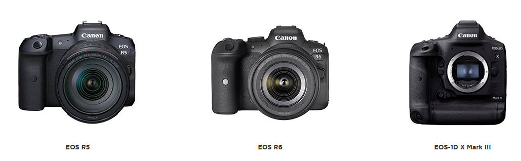 Canon: New firmware for EOS R5, EOS R6 and EOS-1D X Mark III brings among others Dual Recording and