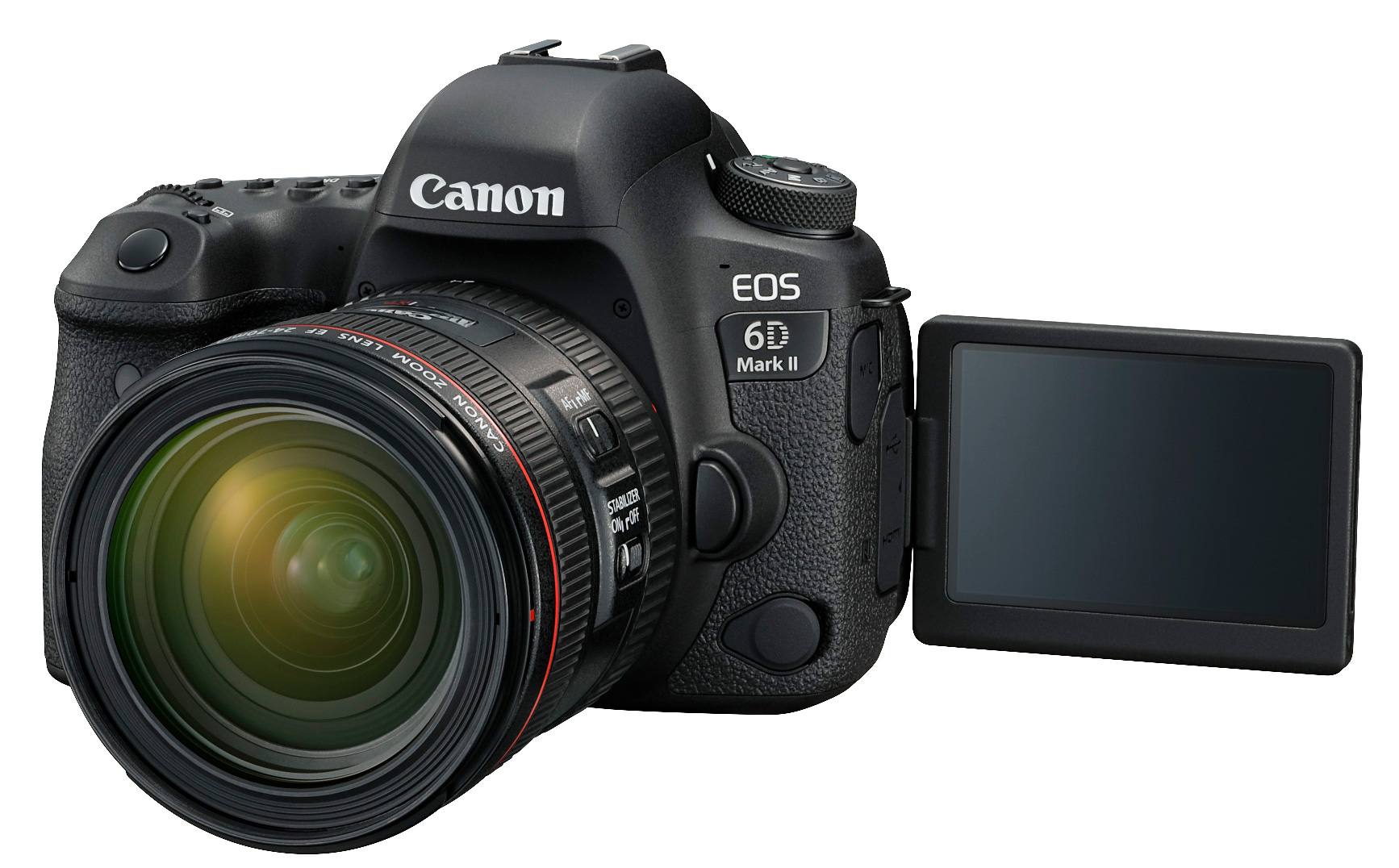 New Canon DSLRs without 4K EOS 6D Mk2 and EOS 200D