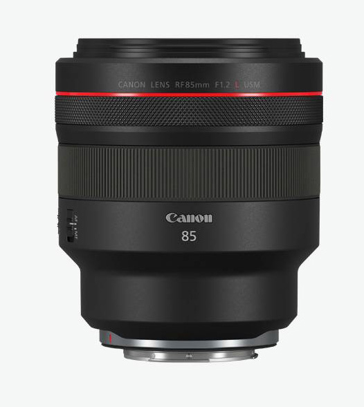 Canon RF 85mm F1.2L USM - fast portrait lens for Canons mirrorless full format cameras