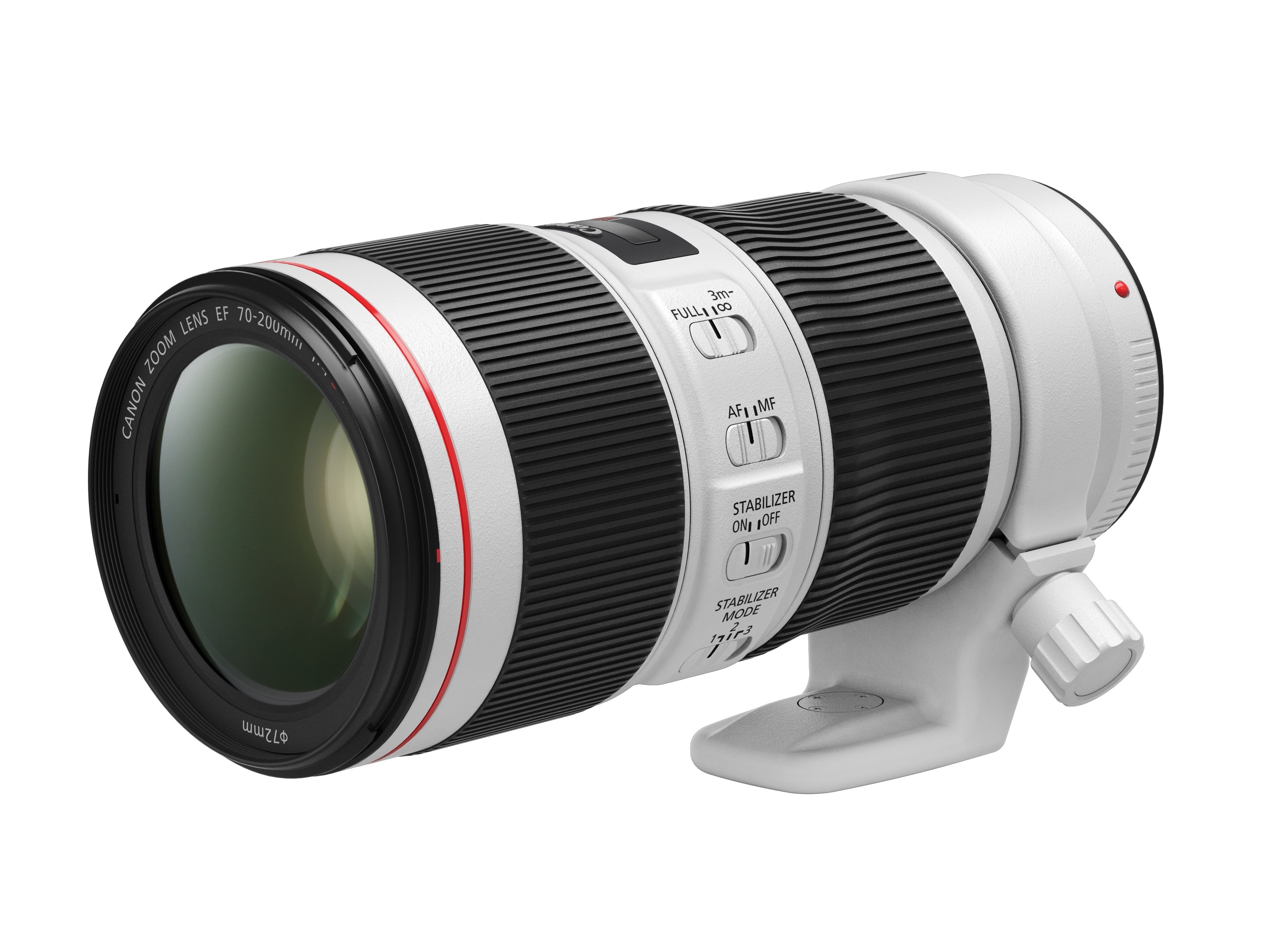 Canon: Full-Frame EF 70-200mm f/4L IS II USM with even stronger 5-step image stabilizer