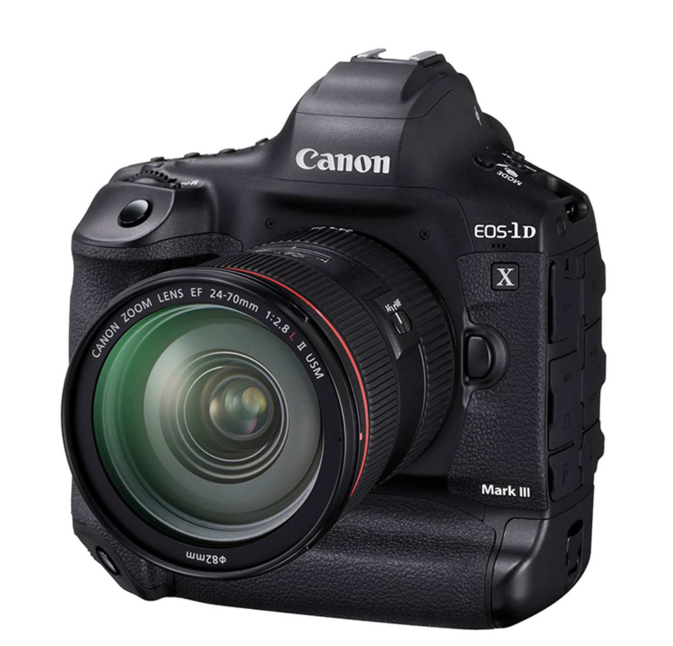Canon: EOS-1D X Mark III - first DSLR with internal RAW video recording. Also 4K 10 Bit 60p Log on b