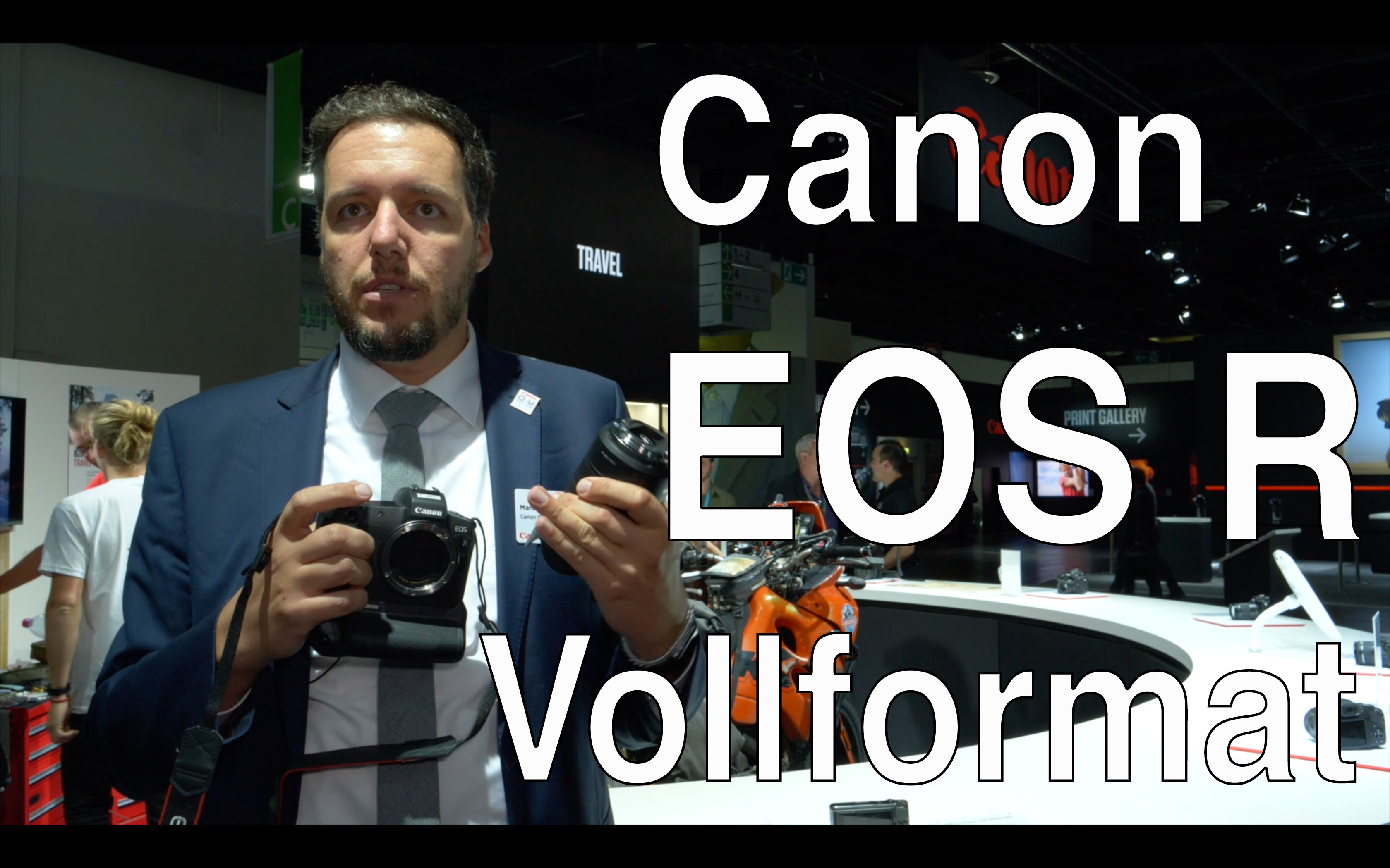 Videoimterview: .Canon EOS R: 10 Bit 4K Out, Dual Pixel AF via Touchscreen, Ergonomics, Availability