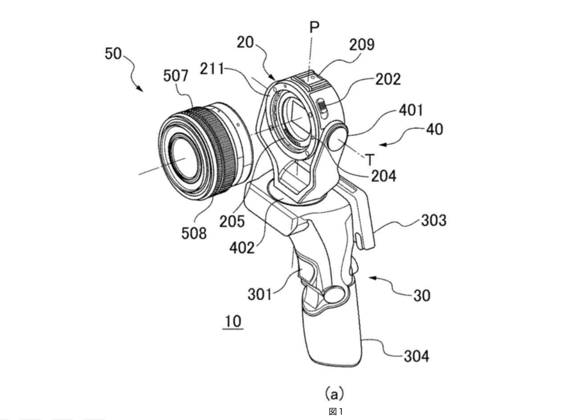 Canon: One-handed gimbal with integrated S35/Fullframe sensor and interchangeable mount coming soon?